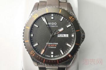 一般档次品牌的手表可以二手回收吗