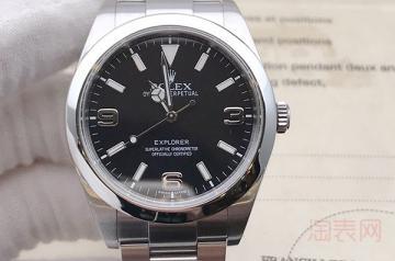 一年半的劳力士手表可以几折回收