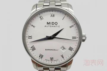 哪里回收二手美度手表的价格更高