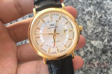 万国18K纯金古董手表回收的市场如何
