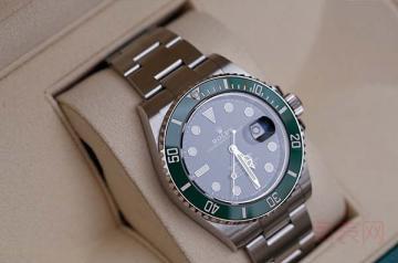 劳力士绿鬼手表回收价格为何这么高
