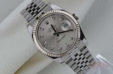 老款白金钻石劳力士手表回收价格是多少?