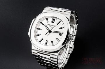 二十万的百达翡丽手表回收能卖多少钱