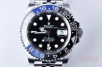 劳力士蓝黑圈手表的回收价格是多少