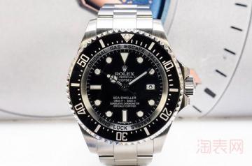 劳力士黑海使手表的回收价格怎么样