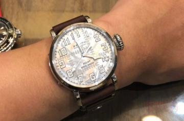 真力时银质飞行员腕表回收价格是多少