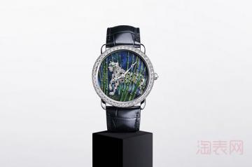 在哪里回收二手卡地亚女士手表效率高