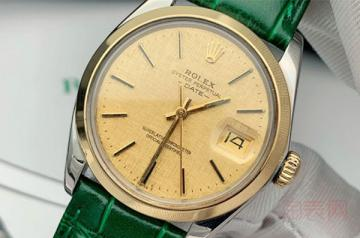 老款劳力士手表回收价格一般多少钱?