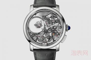 回收卡地亚手表报价存在起步价吗