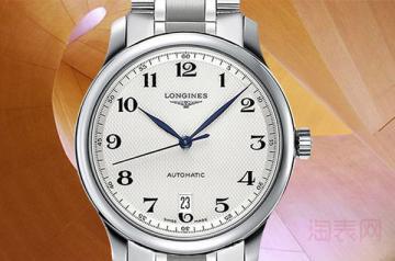 浪琴名匠手表回收大约多少钱?