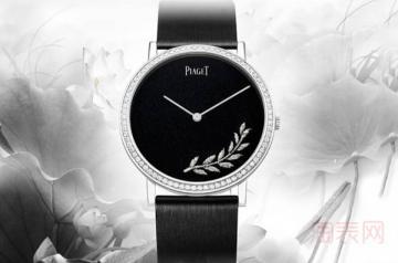 伯爵二手手表回收可以宅家处理吗