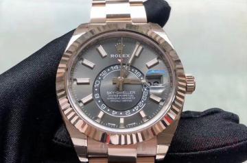 劳力士手表买了三年回收打几折