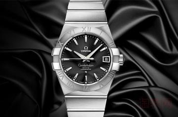 欧米茄8500机芯星座38毫米表盘腕表回收行情介绍