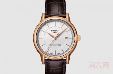 天梭机械手表能卖多少钱一款