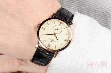 江诗丹顿手表回收价格查询大概几折