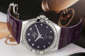 08年的欧米茄星座手表能卖多少钱