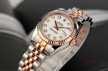 女士劳力士手表回收价格在几折
