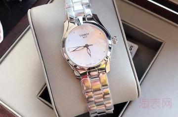 天梭手表2600买的戴一年能卖多少钱