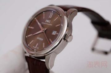 2年的万国柏涛菲诺腕表能卖多少钱