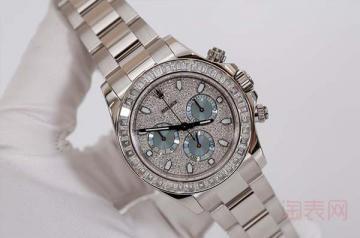 百万手表回收价格到底贵在哪