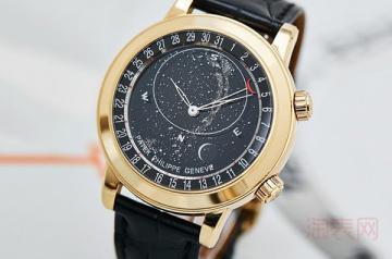 百达翡丽星空6102手表的回收价格高吗