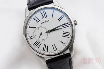 二手真力时手表在回收时能卖多少钱