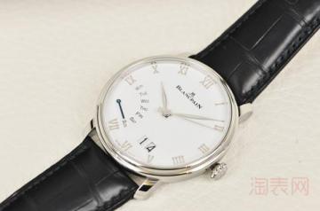 宝珀经典手表回收一般是原价的几折