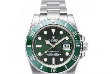 劳力士绿水鬼手表二手回收价钱