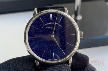 哪里回收二手朗格手表价格高
