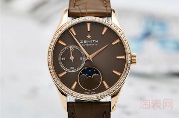 真力时二手手表回收价格是多少