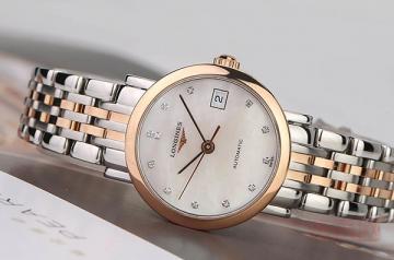 浪琴博雅玫瑰金手表多少钱回收