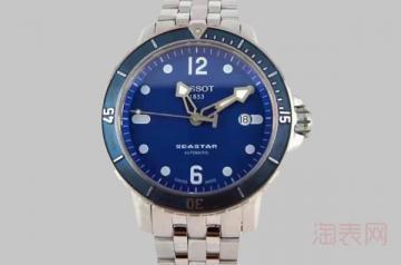 天梭海星手表卖二手多少钱 通过这些才可得知