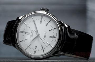 劳力士手表一般回收是原价的几折