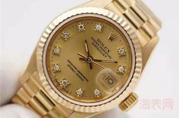 二手金手表回收价格能有几折