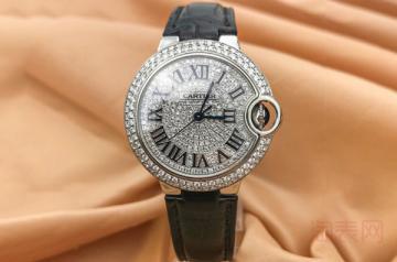 卡地亚手表可以回收多少钱跟成色有关