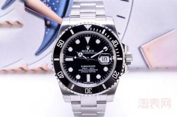 劳力士黑鬼手表回收多少钱