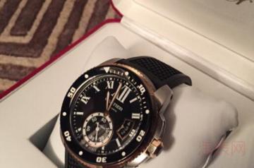 卡地亚八万多的手表回收还值多少钱