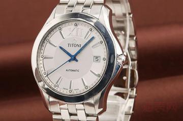 瑞士梅花手表摔坏了还能回收变现吗