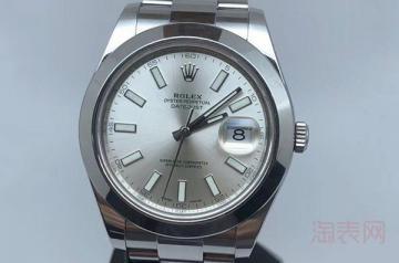 劳力士手表戴了两年了回收能卖多少钱