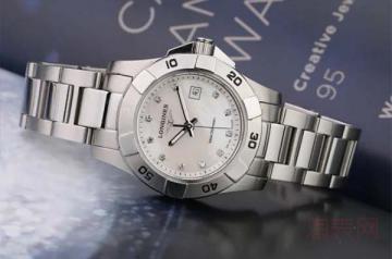 浪琴康卡斯手表二手能卖多少钱