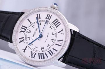 卡地亚手表有人回收吗 价格怎么样