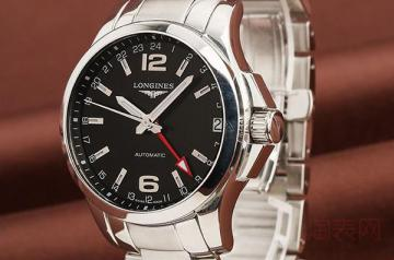 二手浪琴手表回收能卖多少钱一块