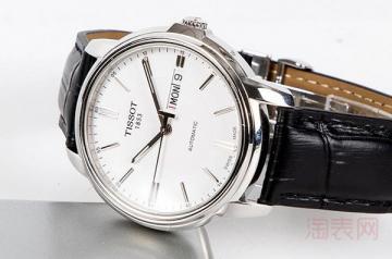 四千块钱的天梭手表回收能卖个多少钱