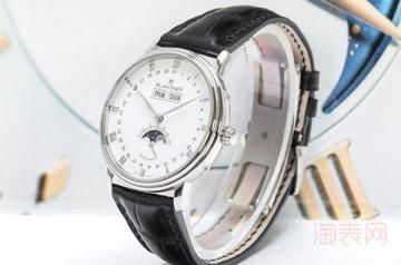 宝珀6263手表回收值钱吗 二手报价如何