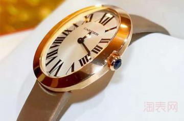 二手卡地亚浴缸手表回收能卖多少钱