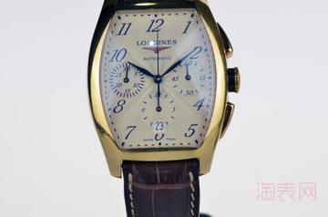 刚买的浪琴手表 请问回收值多少钱