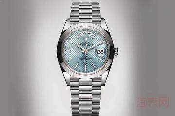 女款不带钻劳力士手表回收价格会比钻表高吗