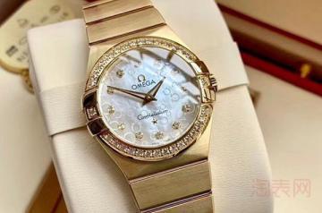 带了一年的欧米茄手表能卖多少钱