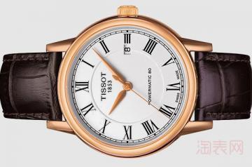 2千多的天梭手表能卖多少钱 有市场吗