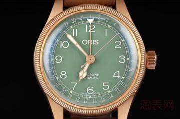 旧豪利时绿盘手表能卖多钱 回收行情如何